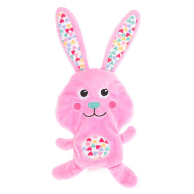 Top Paw® Easter Bunny Flattie Dog Toy size: Small