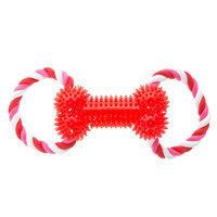 Top Paw® Valentine's Rope Bone Dog Toy