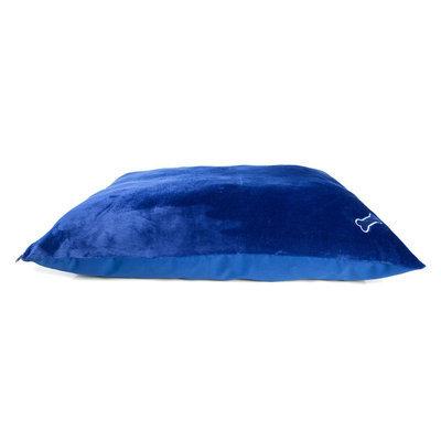 Grreat Choice® Pillow Dog Bed size: Blue