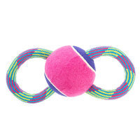 Top Paw® Figure 8 Rope Large Ball Dog Toy