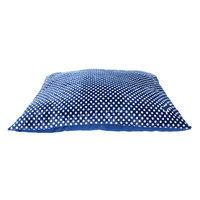 Grreat Choice® Dot Pillow Dog Bed, Blue