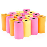 Top Paw® Glow-in-the-Dark Waste Bag Refill size: Pink