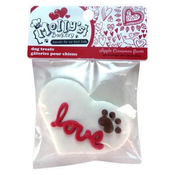 Molly's Barkery Valentine's 'Love' Dog Treat - Apple Cinnamon