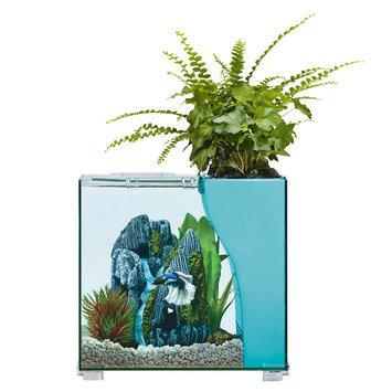 Top Fin® Aquaponics Embark 2.5 Gallon Desk Aquarium size: 2.5 gal