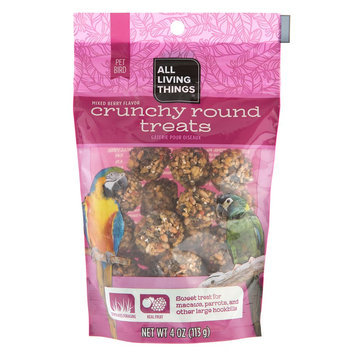 All Living Things® Crunchy Rounds Treats size: 4 Oz
