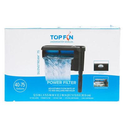 Top Fin® Silenstream, Power Filter size: 75 gal