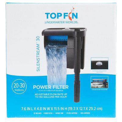Top Fin® Silenstream, Power Filter size: 30 gal