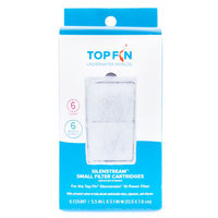 Top Fin Silenstream Cartridge size: 6 Count