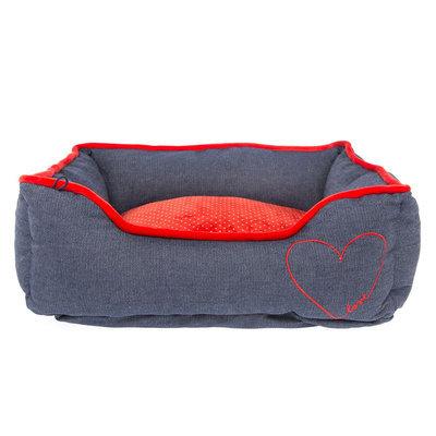 ED Ellen DeGeneres Heart Cuddler Dog Bed