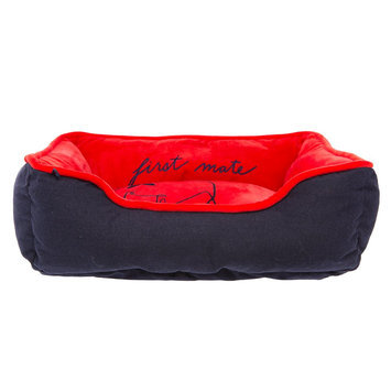 ED Ellen DeGeneres First Mate Cuddler Dog Bed