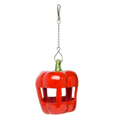 All Living Things® Ceramic Pepper Hay Feeder size: one size