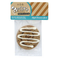 Molly's Barkery Cinnamon Bun Cookie Dog Treat - Apple Cinnamon