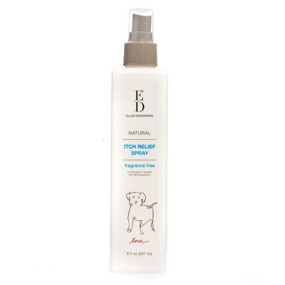 ED Ellen DeGeneres Fragrance Free Itch Relief Dog Spray