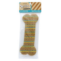Molly's Barkery Drizzled Bone Large Dog Treat - Apple Cinnamon (Color Varies)