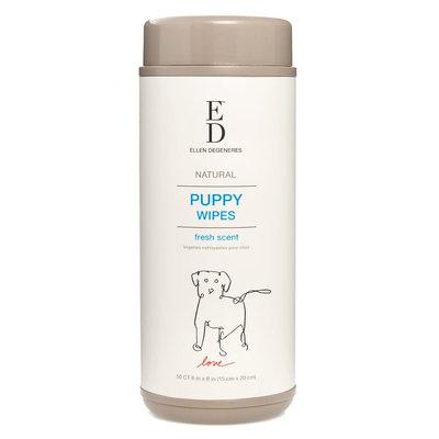 ED Ellen DeGeneres Fresh Scent Puppy Wipes size: 50 Count