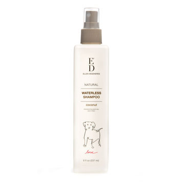 ED Ellen DeGeneres Coconut Waterless Spray Dog Shampoo size: 8 Fl Oz