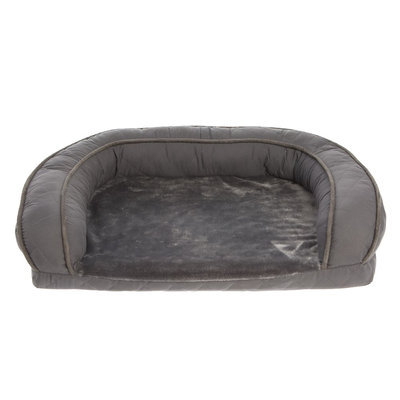 Top Paw® Quilted Sofa Dog Bed size: 21