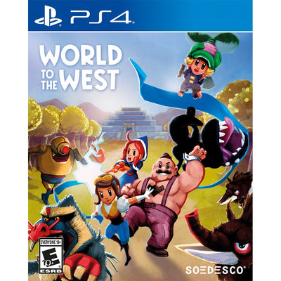 Soedesco Publishing B.v. World to the West Playstation 4 [PS4]