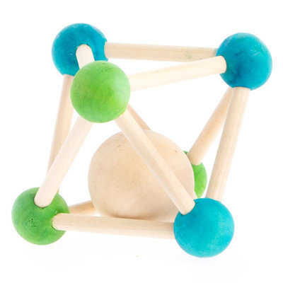 All Living Things Molecule Wooden Chew size: one size