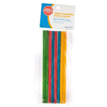 Grreat Choice Long Rainbow Stick Chews size: one size