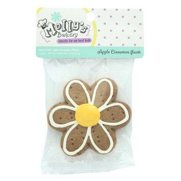 Molly's Barkery Flower Cookie Dog Treat - Apple Cinnamon