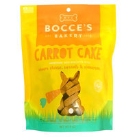 Bocce's Bakery Carrot Cake Cookies Dog Treat - Natural size: 5 Oz