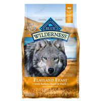 Blue Buffalo Blue Wilderness® Flatland Feast Dog Food - Natural, Grain Free, Turkey, Quail and Duck size: 4 Lb