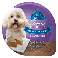 Blue Buffalo Blue Divine Delights, Dog Food - Natural, Porterhouse size: 3.5 Oz