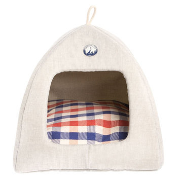 ED Ellen DeGeneres Camp Hut Pet Bed