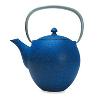 Primula Sakura Cast Iron Teapot with Infuser in Blue
