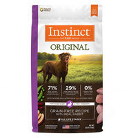 Natures Variety Instinct Nature's Variety Instinct Original Dog Food - Natural, Grain Free, Raw, Rabbit size: 4 Ft