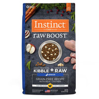 Natures Variety Instinct Nature's Variety Instinct Raw Boost Senior Dog Food - Grain Free, Freeze Dried Raw, Chicken size: 21 Lb