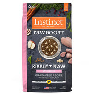 Natures Variety Instinct Nature's Variety Instinct Raw Boost Toy Breed Dog Food - Grain Free, Freeze Dried Raw, Chicken size: 4 Lb