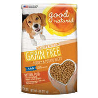 Good Natured, Grain Free Adult Dog Food - Natural, Turkey and Potato size: 6 Lb