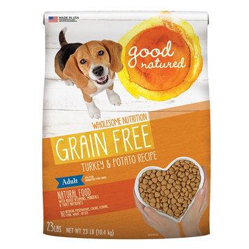 Good Natured, Grain Free Adult Dog Food - Natural, Turkey and Potato size: 23 Lb, Kibble