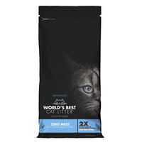 World's Best Cat Litter, Advanced Zero Mess Cat Litter - Clumping size: 24 Lb