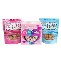 The Lazy Dog Cookie Co. I Ruff You Pup-PIE and Mutt Mallows Dog Treat Trio Set
