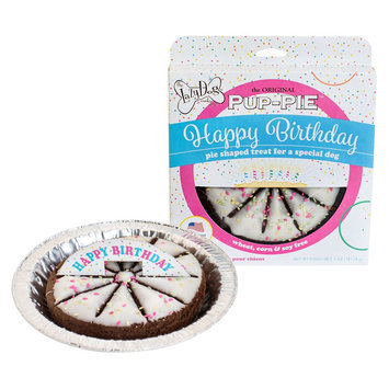 Lazy Dog Cookie Co. The Lazy Dog Cookie Company Pup-Pie Dog Treat - Happy Birthday size: 5 Oz