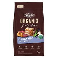 Organix Grain Free Puppy Dry Dog Food, 4lbs