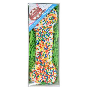 Foppers Confetti Bone Dog Treat - Peanut, 21160
