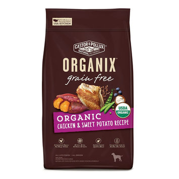 Castor and Pollux Organix Grain Free Organic Dog Food - Chicken and Sweet Potato Castor & Pollux