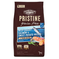Castor and Pollux Pristine, Grain Free with Raw Bites Dog Food - Wild-Caught Salmon and Sweet Pota size: 4 Lb, Castor & Pollux