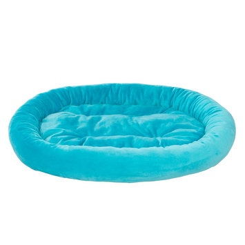 Grreat Choice Bolster Pet Bed, Turquoise
