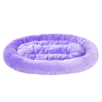 Grreat Choice Bolster Pet Bed, Purple