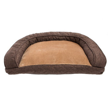 Top Paw Quilted Sofa Dog Bed size: 27