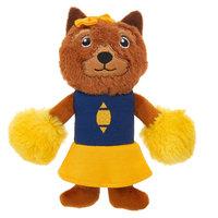 Top Paw Sports Cheerleader Dog Toy - Plush, Squeaker