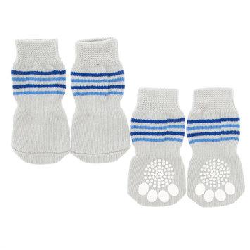 Top Paw Striped Dog Socks size: Small