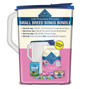 Blue Life Protection Formula Small Breed Adult Bonus Bundle - Chicken and Brown Rice, Blue Buffalo