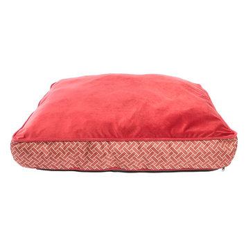 Top Paw Fashion Print Matress Dog Bed size: 27