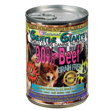 Gentle Giants Dog Food - Natural, Beef, 12ct Case size: 13 Oz